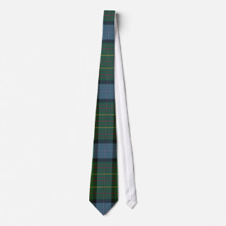 California Tartan Plaid Neck Tie
