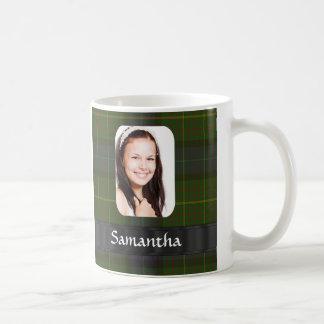 California tartan plaid photo template coffee mug