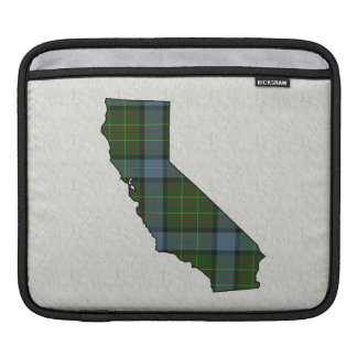 California Tartan Plaid Sleeve For iPads