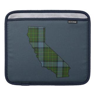 California Tartan Plaid Sleeves For iPads