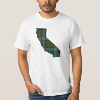 California Tartan Plaid T-Shirt
