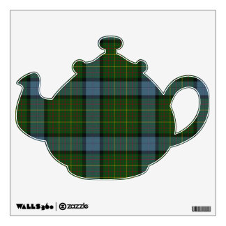 California Tartan Plaid Wall Sticker