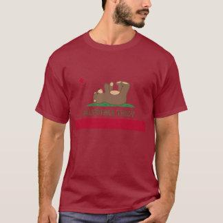 California Teddy Bear Flag T-Shirt