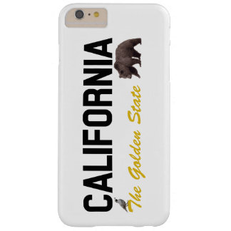 California - The Golden State Barely There iPhone 6 Plus Case