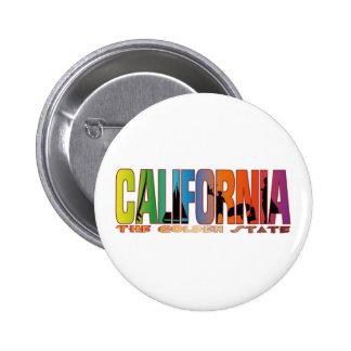 California the golden state button
