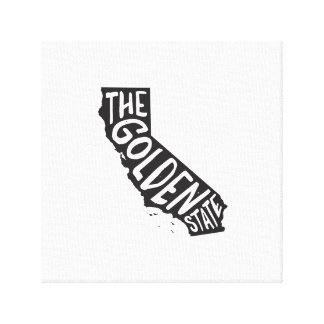 California: The Golden State Canvas Print