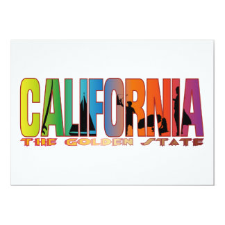 California the golden state card