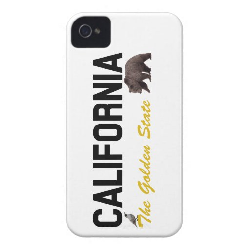 California - The Golden State iPhone 4 Cover
