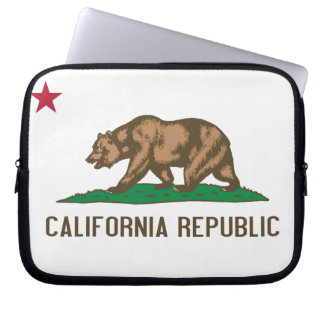 California - The Golden State Computer Sleeves