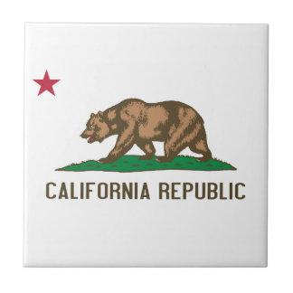 California - The Golden State Tile