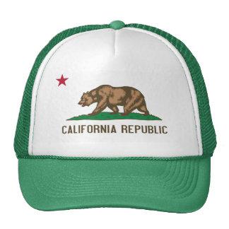 California - The Golden State Trucker Hat
