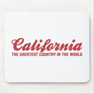 california the greatest country in the world mousepad