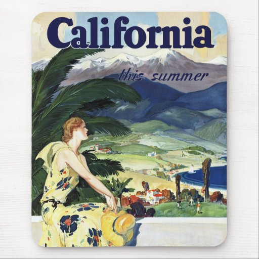 California This Summer Mouse Pad
