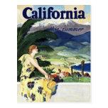 California This Summer Post Card