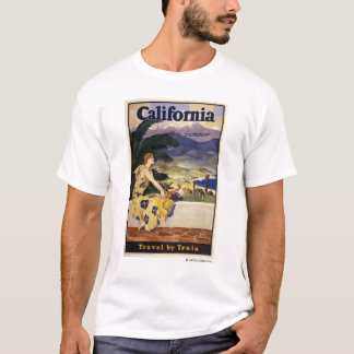California this summer. Travel by Train  T-Shirt