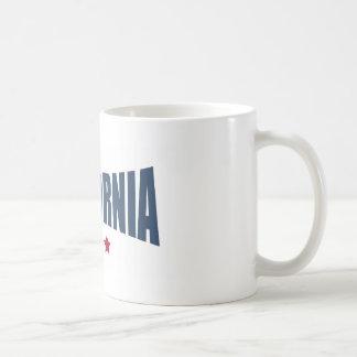 California Three Stars Design Coffee Mugs