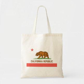 California Tote Canvas Bag