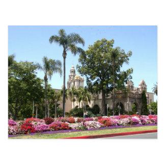 California Tower at Balboa Park, San Diego Postcard