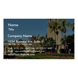 California Tower In Balboa Park Business Card