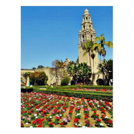 California Tower In Balboa Park Postcards