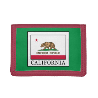 California Trifold Wallets