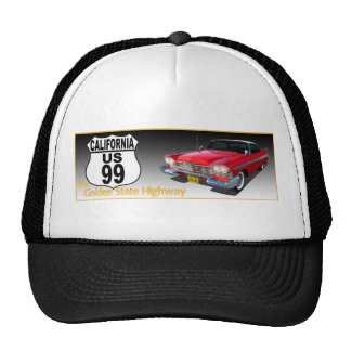 California U S Route 99 - The Golden State Hats