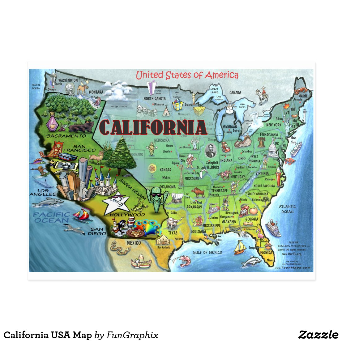 Reference Map Of California USA Nations Online Project State Map - Map usa canada google