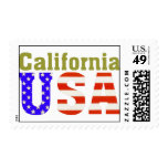 California USA! Postage