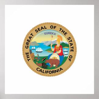 California, USA Poster