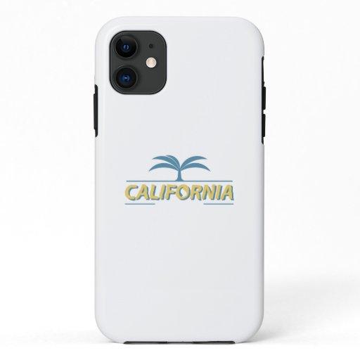 California usa state text  iPhone 11 case