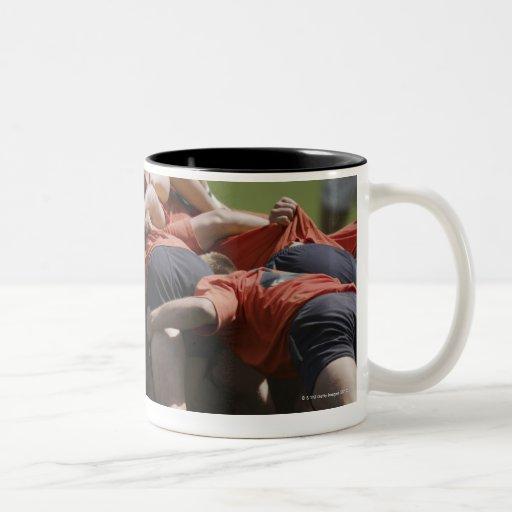 California, USA Two-Tone Coffee Mug