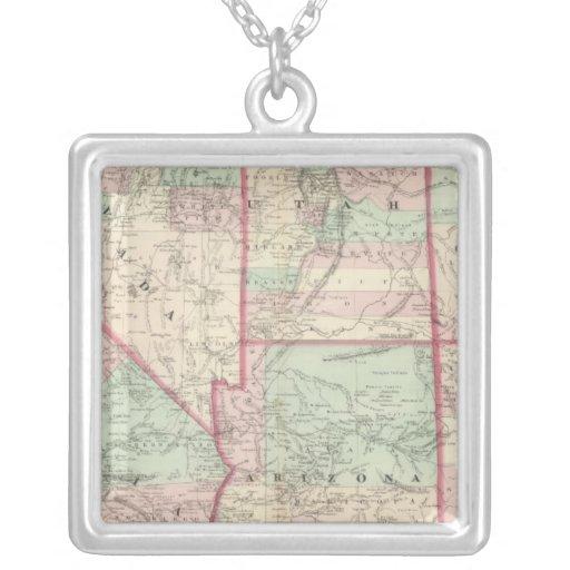 California, Utah, Nevada, Colorado Collar Plateado