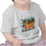 California vara puesta del sol camisetas