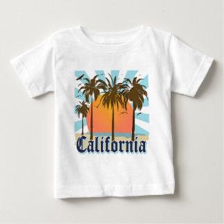 California vara puesta del sol playera de bebé