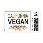 California Vegan Postage Stamps