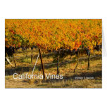 California Vines (4698) California Products Greeting Card