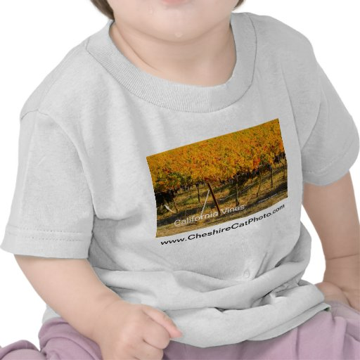 California Vines (4698) California Products Tshirts