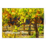 California Vines California Products Greeting Card
