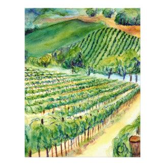 California Vineyard Flyer