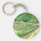 California Vineyard Keychain