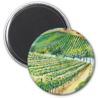 California Vineyard Magnet