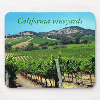 California vineyards mouse pad