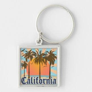 California Vintage Souvenir Keychain