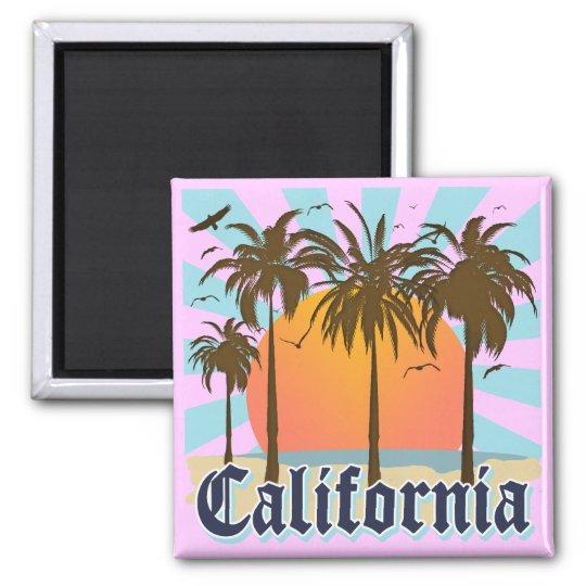 California Vintage Souvenir Magnet