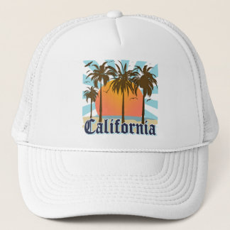 California Vintage Souvenir Trucker Hat
