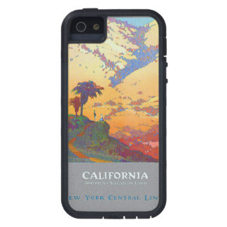 California Vintage Travel Poster iPhone 5 Covers