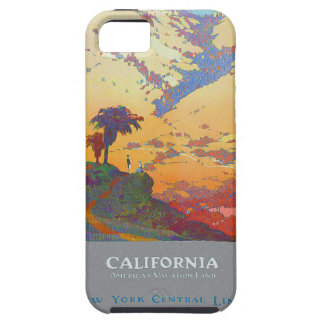 California Vintage Travel Poster iPhone 5 Cover