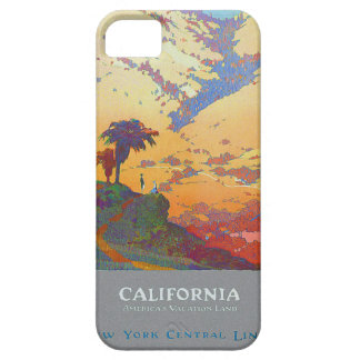 California Vintage Travel Poster iPhone 5 Cases