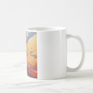 California Vintage Travel Poster Coffee Mugs