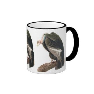 California Vulture (Condor), Audubon Fine Art Ringer Mug